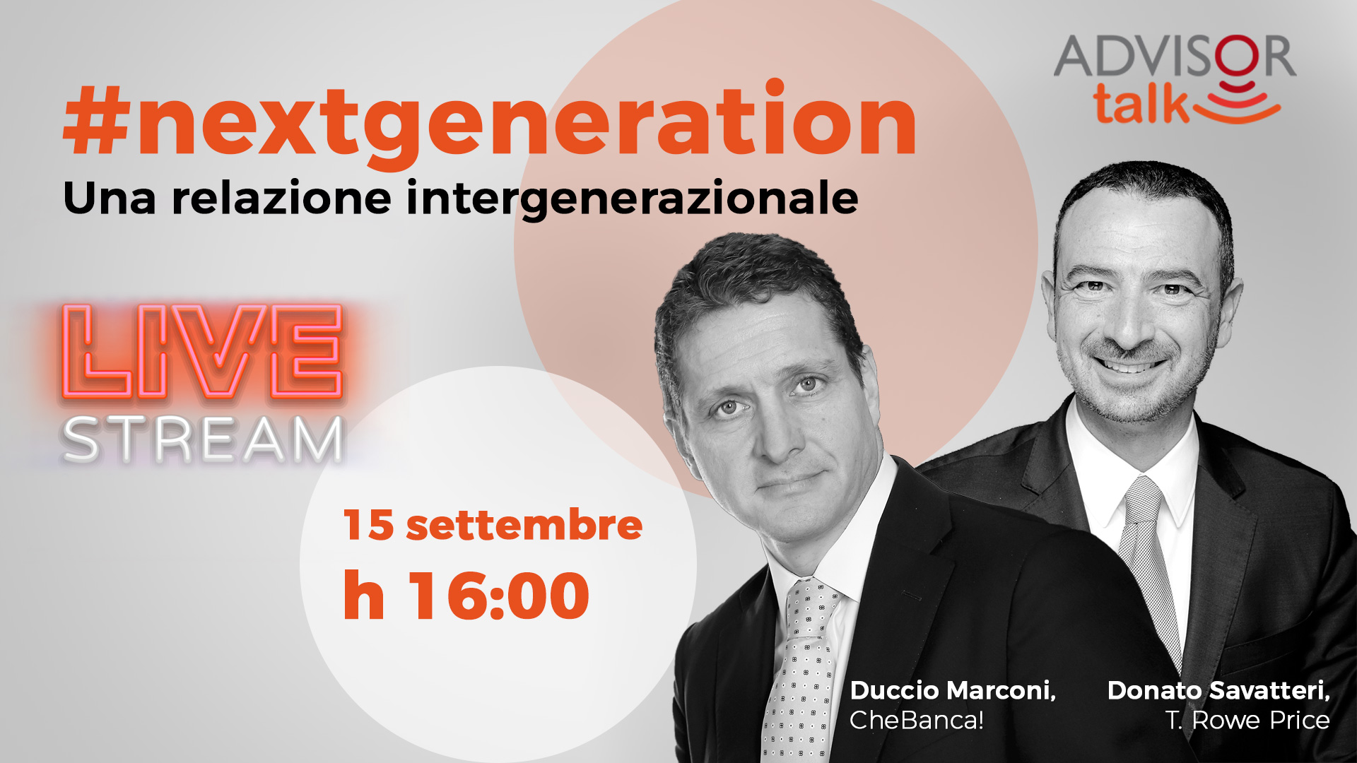 #nextgeneration - Una relazione intergenerazionale