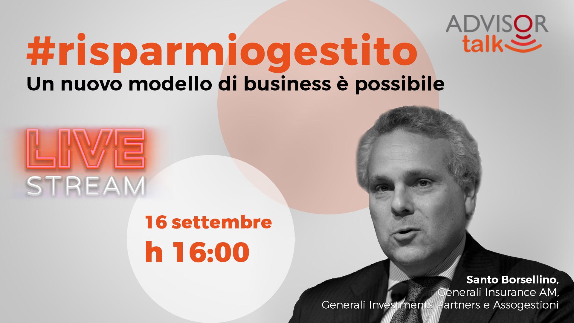 #risparmiogestito - Un nuovo modello di business è possibile