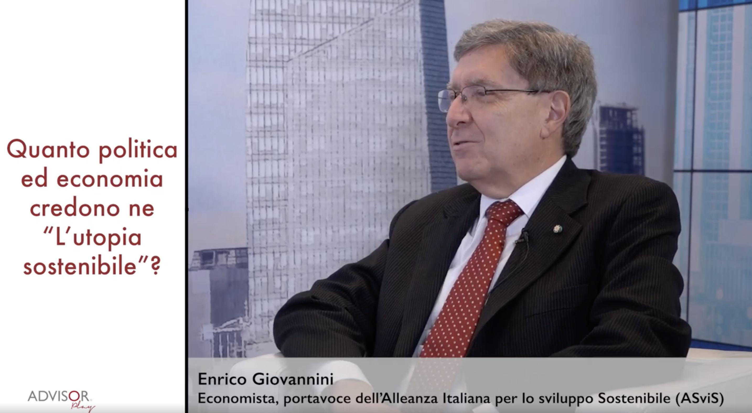 """Giovannini (ASviS): """"Attenzione alla sostenibilità 'fake'"""""""