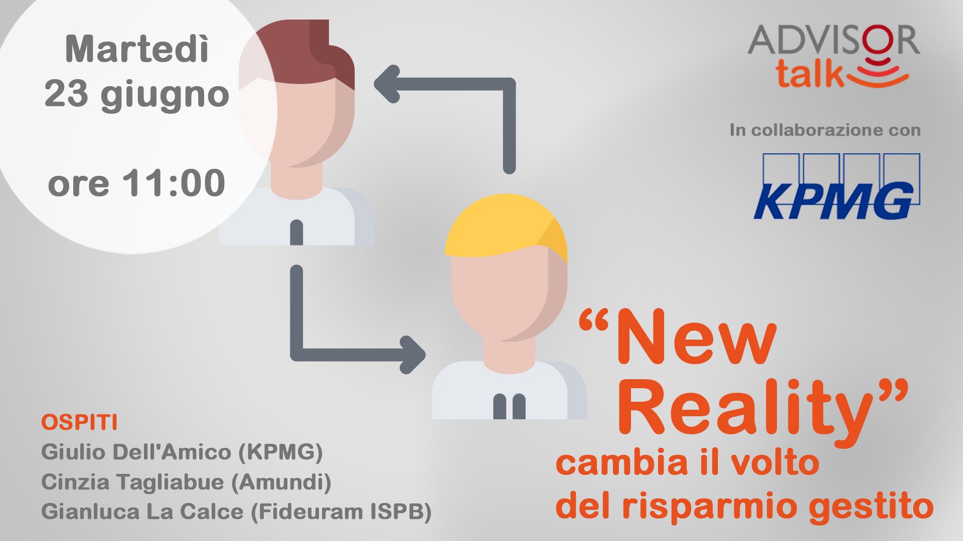 """""""New Reality"""", cambia il volto del risparmio gestito"""
